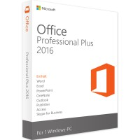 Microsoft Office 2016 Professional Plus Cover