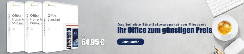 Ihr Microsoft Office Paket zum günstigen Preis
